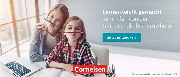 Cornelsen: Lernen leicht gemacht - Lernhilfen von der Grundschule bis zum Abitur