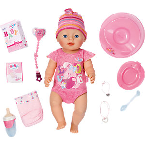 BABY born® Babypuppe Interactive Girl, 43 cm