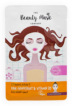 The Beauty Mask STRAHLKRAFT Pink Grapefruit & Vitamin B3