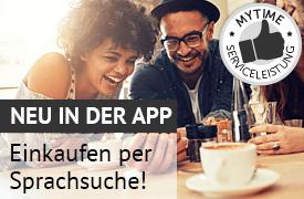 Jetzt neu in der App: Einkaufen per Sprachsuche!
