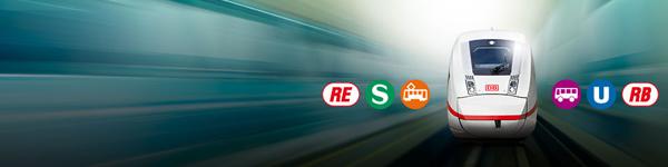 City-Ticket: Nahverkehr inklusive - jetzt bei Sparpreis und Flexpreis im Fernverkehr