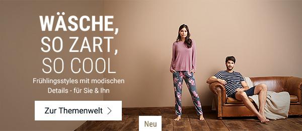 Wäsche, so zart, so cool: Frühlingsstyles mit modischen Details für Sie & Ihn