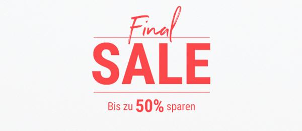 Final Sale: Bis zu 50% sparen