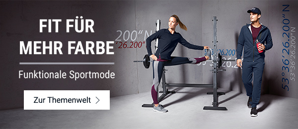 Funktionale Sportmode