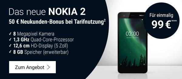 Das neue NOKIA 2