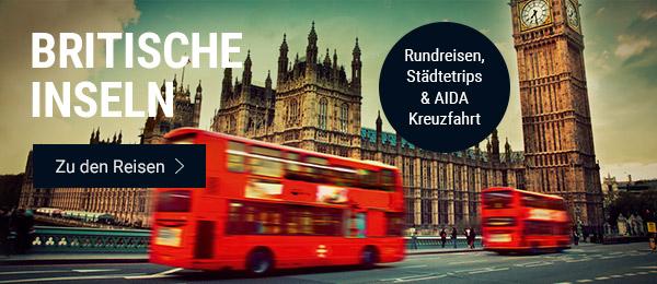 Britische Inseln: Rundreisen, Städtetrips & AIDA Kreuzfahrt. Stöbern Sie jetzt!