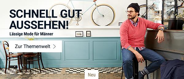 Schnell gut aussehen: Lässige Mode für Männer