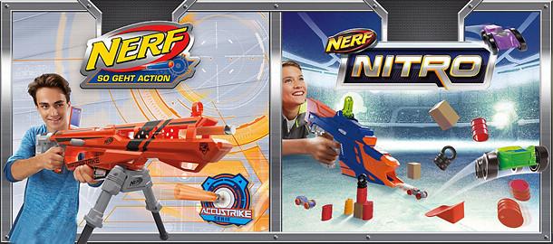 Hasbro: NERF