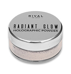 Rival de Loop Radiant Glow Holographic Powder