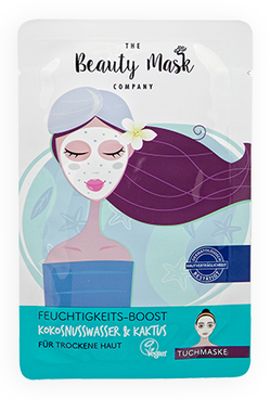 The Beauty Mask FEUCHTIGKEITS-BOOST Kokosnusswasser & Kaktus