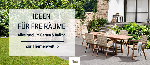 Ideen für Freiräume: Alles rund um Garten & Balkon