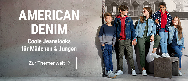 Coole Jeanslooks für Mädchen & Jungen
