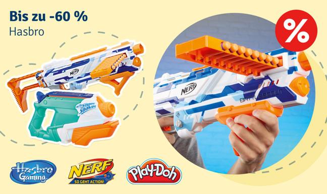 Bis zu -60% auf Hasbro