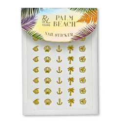 Palm Beach Nail Sticker