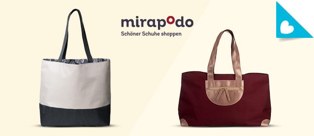 Tasche zur Wahl bei mirapodo