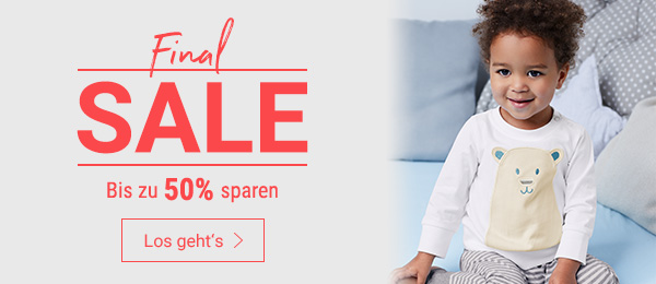 Final SALE: Bis zu 50% auf Kindermode sparen. Jetzt shoppen!