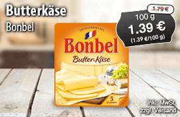 Angebot: Bonbel Butter-Käse, 100g, Angebotspreis 1,39 Euro, Streichpreis 1,79 Euro, inkl. MwSt., zzgl. Versand – zum Bestellen hier klicken!