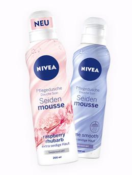 NIVEA Pflegedusche Seidenmousse