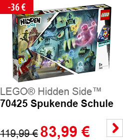 LEGO Hidden Side 70425 Spukende Schule