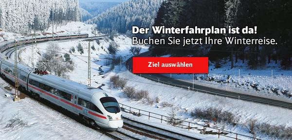 Der Winterfahrplan ist da! Buchen Sie jetzt Ihr Winterreise.