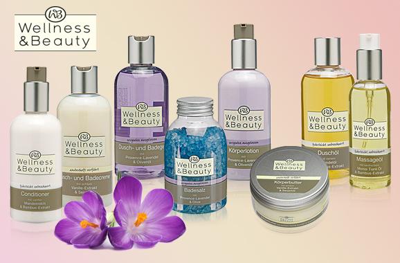 Wellness & Beauty Produktübersicht