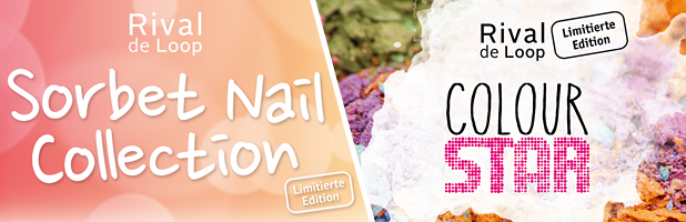"Rival de Loop ""Sorbet Nail Collection"" LE & Rival de Loop ""Colour Star"" LE"