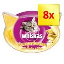 8 x 60 g Whiskas Knuspertaschen