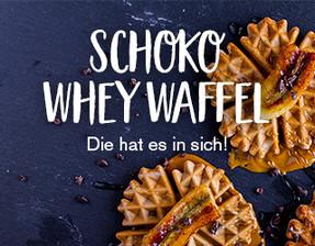 Schoko Whey Waffel