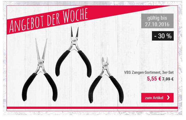Angebot der Woche: VBS Zangen-Sortiment, 3er-Set
