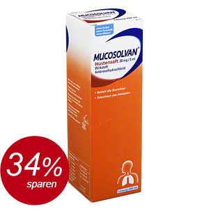 Mucosolvan Hustensaft 30mg/5ml