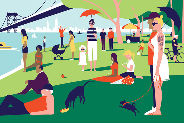 "Ben Wiseman, 2012. ""Sunday in the Park"""